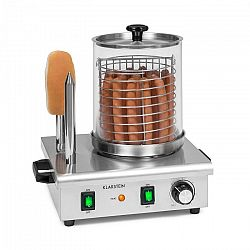 Klarstein Wurstfabrik Pro 550, hotdogovač, 550 W, 5l, 30 - 100°C, sklo, ušlechtilá ocel