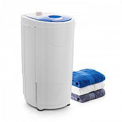 OneConcept Top Spin Compact, ždímačka prádla, 45 W, 1.5 kg, časovač, bílá/modrá