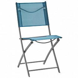 Zahradní Židle Modrá