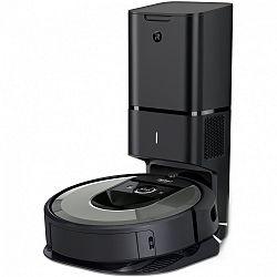 iRobot Roomba i7+ silver WiFi - Robotický vysavač