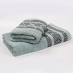 Bambusový ručník Tara - mátový 50x90 cm, 440 g/m2 Ručník