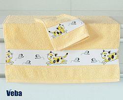Dětský ručník Nora Myši 50x100 cm bavlna