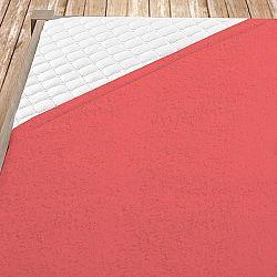 Froté prostěradlo tmavě růžové 180x200 cm dvojlůžko - standard froté