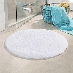 Koupelnová předložka Malmo bílá průměr 71 cm bílá