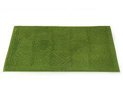 Koupelnová předložka Natalie zelená 50x80 cm, 800 g/m2 bavlna