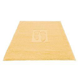 Koupelnová předložka Stopa vanilková 50x70 cm bavlna