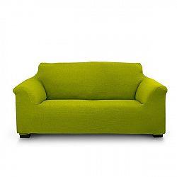 Potah na dvojkřeslo Elegant zelený 130-180 cm - dvojkřeslo zelená