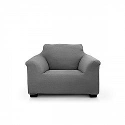 Potah na křeslo Elegant šedý 70-110 cm - křeslo šedá