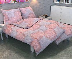 Povlečení Cyrcles Jednolůžko - standard, přikrývka: 1ks 140x200 cm, polštář: 1ks 90x70 cm Bavlna
