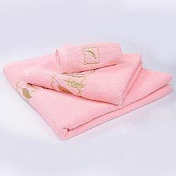 Ručník Grácie - růžový 70x140 cm, 450 g/m2 Osuška