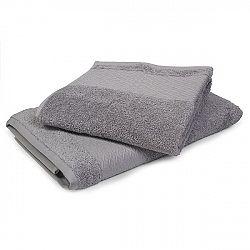 Ručník Karo šedý 50x90 cm, 500 g/m2 Ručník