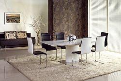 Jídelní stůl rozkládací 180/220 MARCELLO bílý Halmar
