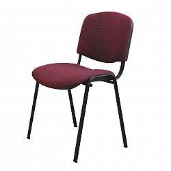 Kancelářská židle, bordó, ISO NEW 0000064043 Tempo Kondela