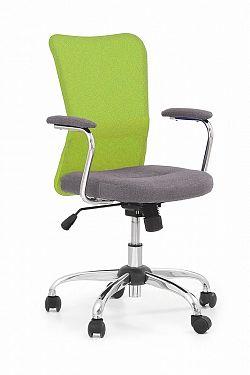 Dětská židle Adrian, šedá / zelená