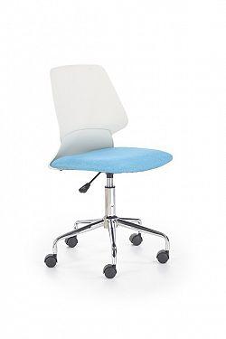 Dětská židle Salmon, bílá / modrá