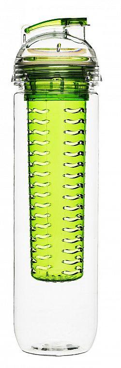 Láhev s difuzérem SAGAFORM Fresh, 800ml, zelená