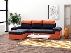 Moderní sedací souprava Moreton, Oranžová