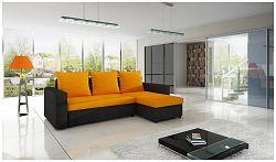 Moderní sedací souprava Tron, Oranžová
