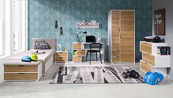 Moderní studentský nábytek Arabela sestava H