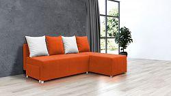 Nejlevnější sedací souprava Filip 1, oranžová