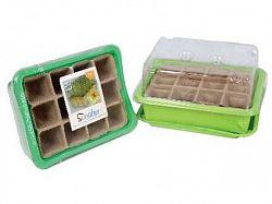 M.A.T. Minipařeniště + deska sadbová rašelin.12 polí (3sady)
