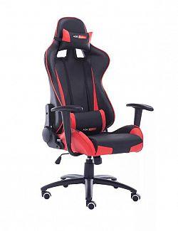 ADK Trade 39147 Kancelářská židle - křeslo KANSAS - červená