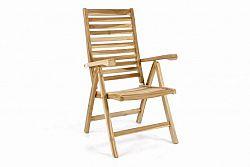 Divero 40817 Polohovatelná zahradní židle