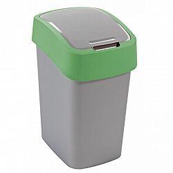 Odpadkový koš FLIPBIN 25l - zelená CURVER