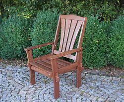 Zahradní dřevěné křeslo MORENO