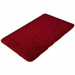 Grund Koupelnová předložka Exclusive melír rubínová 60 x 100 cm