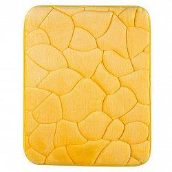 Grund Koupelnová předložka KAMENY žlutá 50 x 80 cm