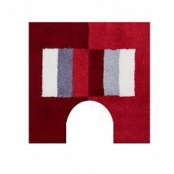 Grund WC předložka CAPRI červená 50 x 50 cm