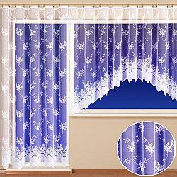 Hotová žakárová záclona amélie - balkonový komplet