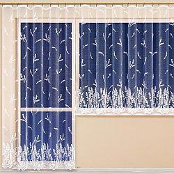 Hotová žakárová záclona MARIANA BÍLÁ balkonový set