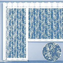 Hotová žakárová záclona STELLA - balkonový komplet