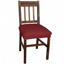 Nueva Textura decoDoma napínací potah multielastický CARLA bordó židle 2 ks 40 x 40 cm