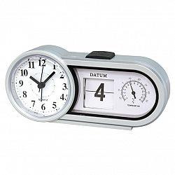 Stolní hodiny s datem a teplotou