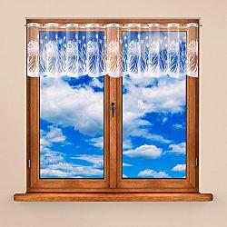 Vitrážková záclona MARIKA 40 x 300 + 60 x 300 cm