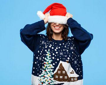Vánoční svetry musíš milovat. Jsou krásně kýčovité!!