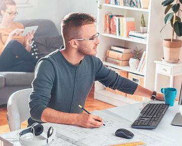 Jak si zařídit home office – výhody a pravidla práce z domu