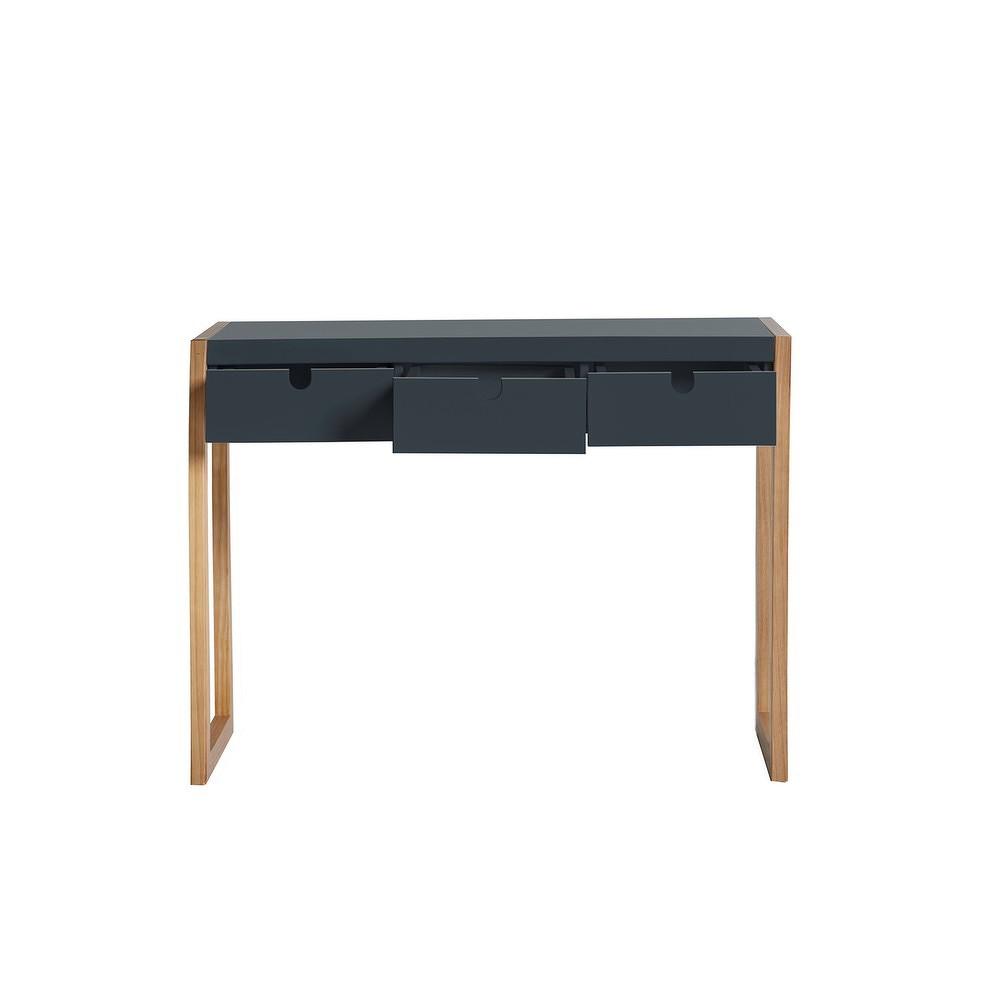 Antracitově šedý konzolový stolek Marckeric Square, 101 x 77 cm