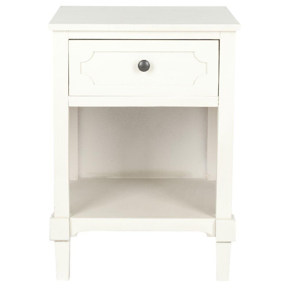 Bílý odkládací stolek Safavieh Jack