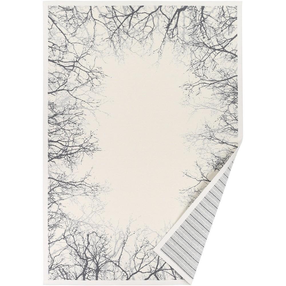 Bílý vzorovaný oboustranný koberec Narma Puise, 140x200cm