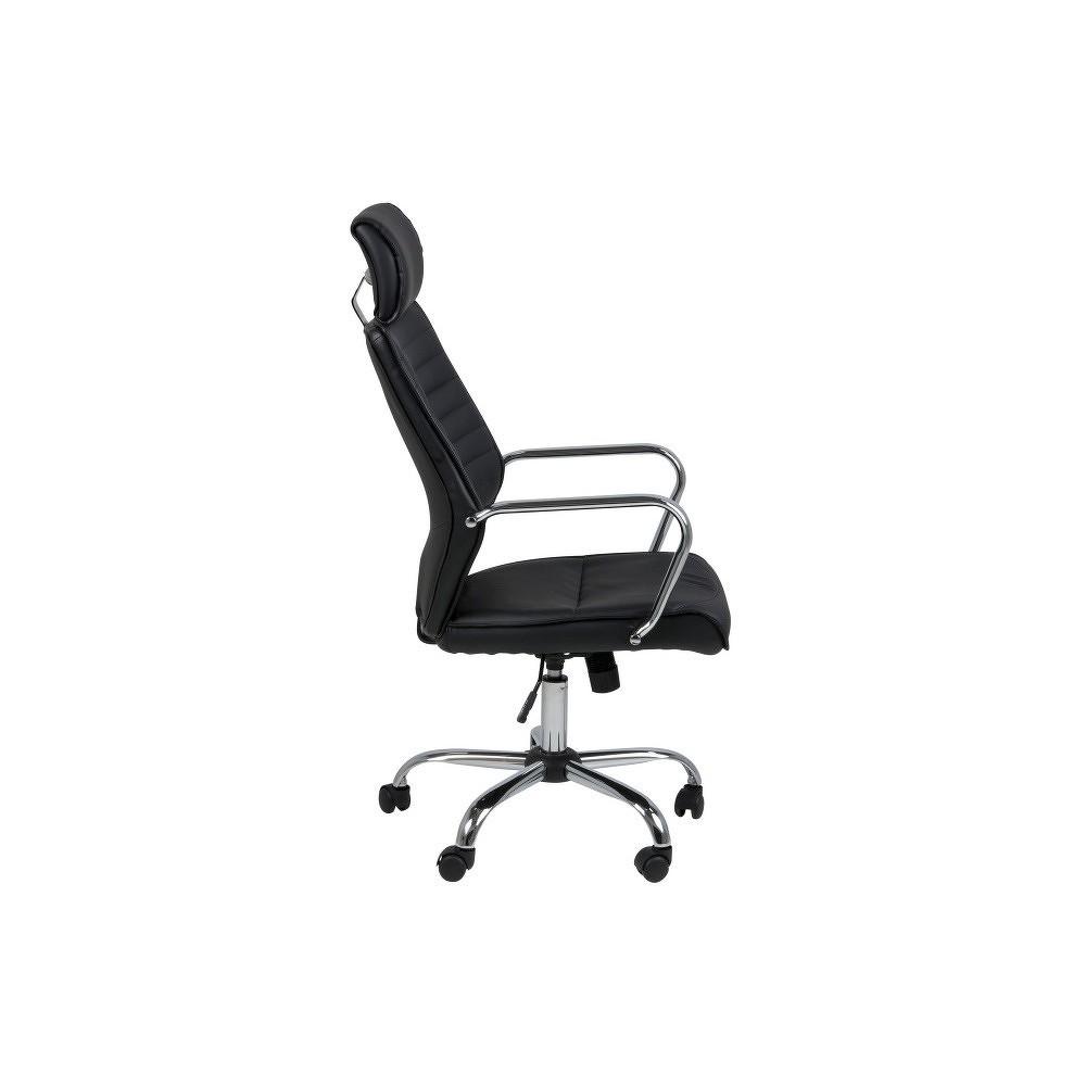 Černá kancelářská židle Actona Earth