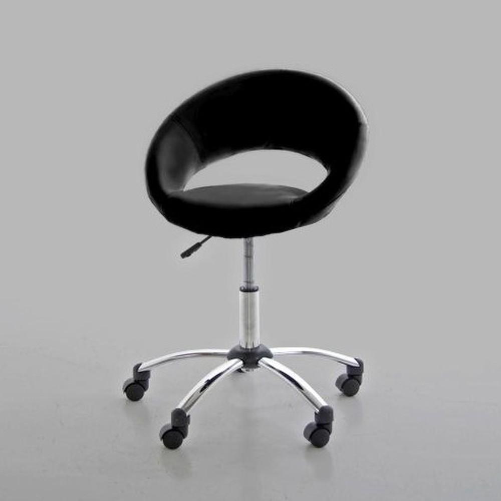 Černá kancelářská židle Actona Plump