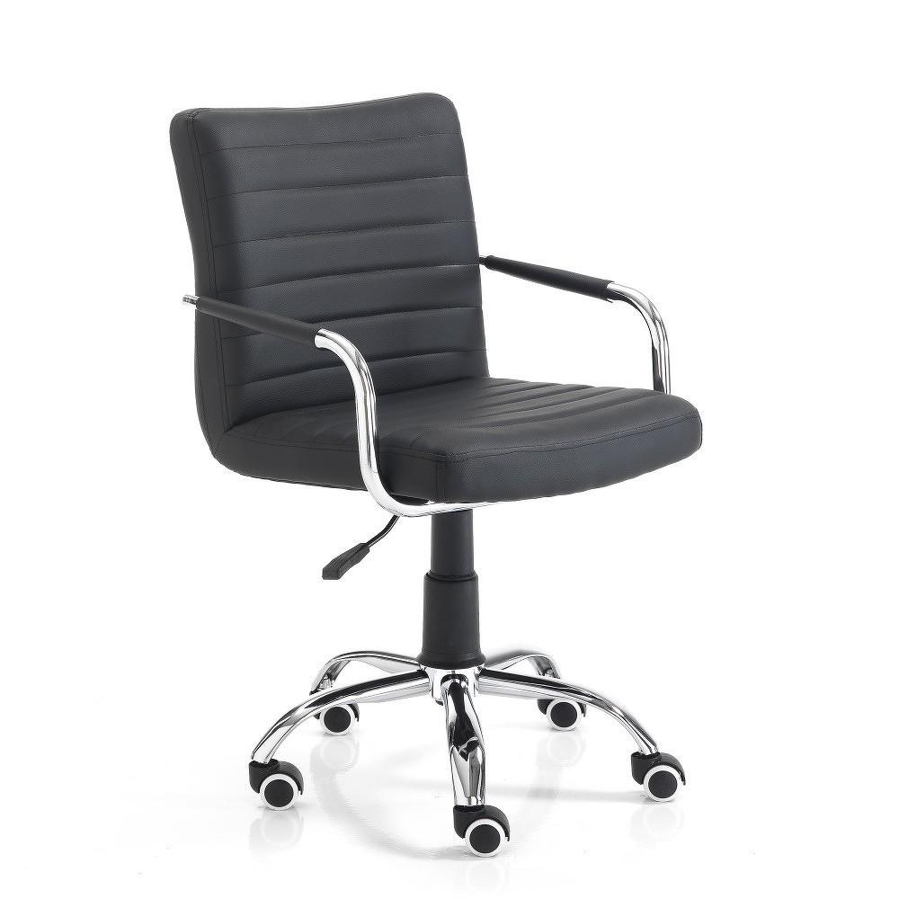 Černá kancelářská židle Tomasucci Milko