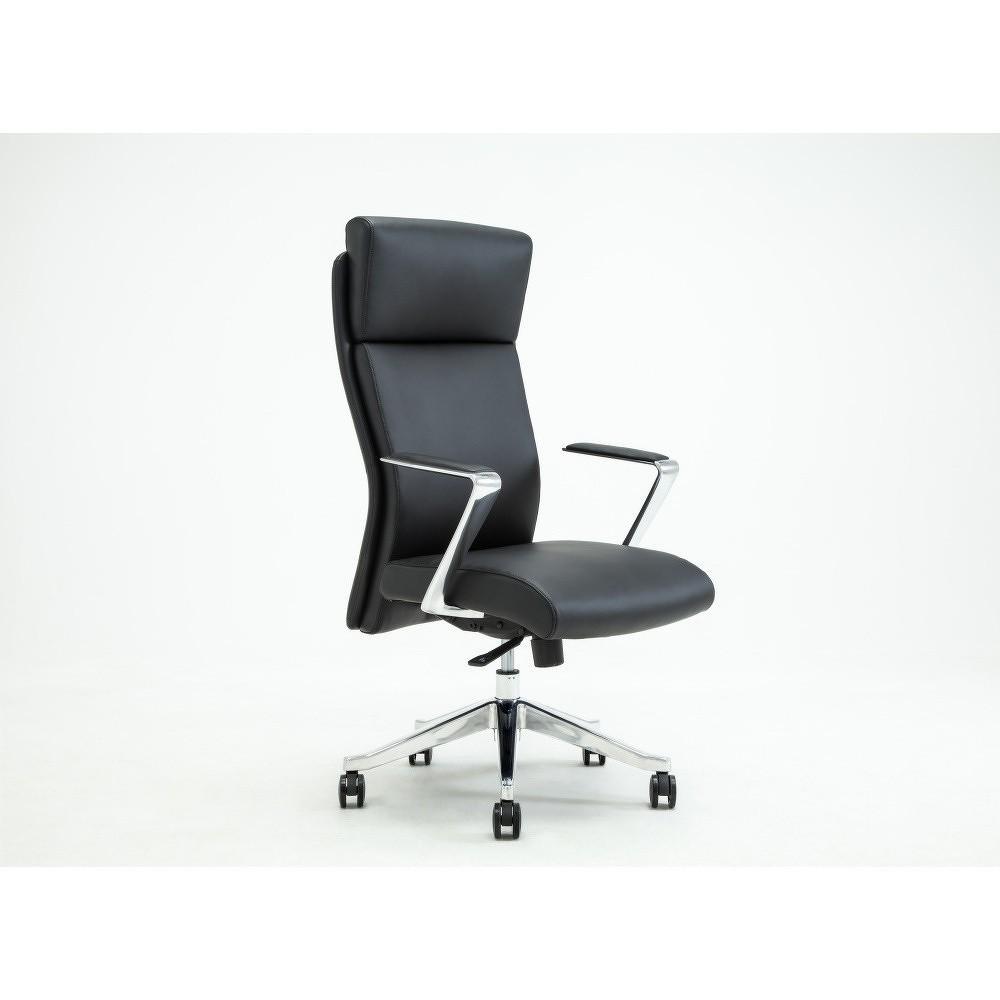 Černá otočná kancelářská židle RGE Elegant