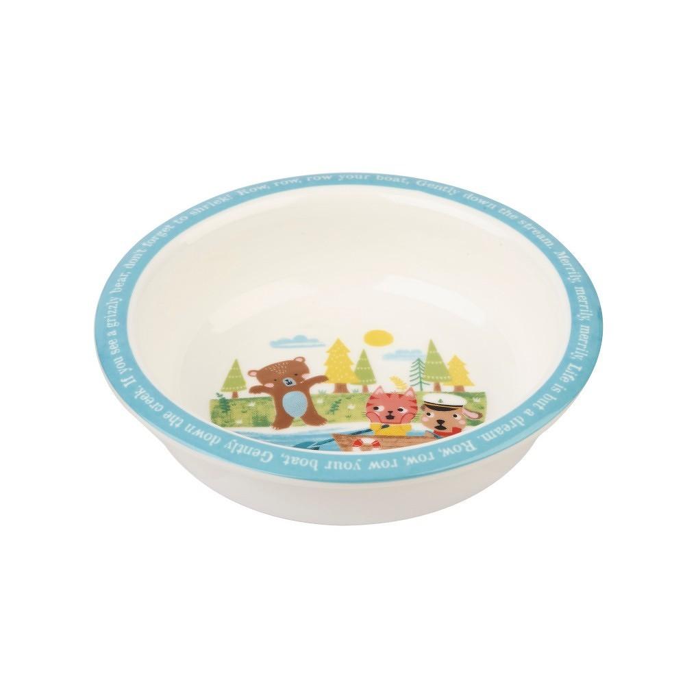 Dětský jídelní set z kostního porcelánu Churchill China Row Your Boat