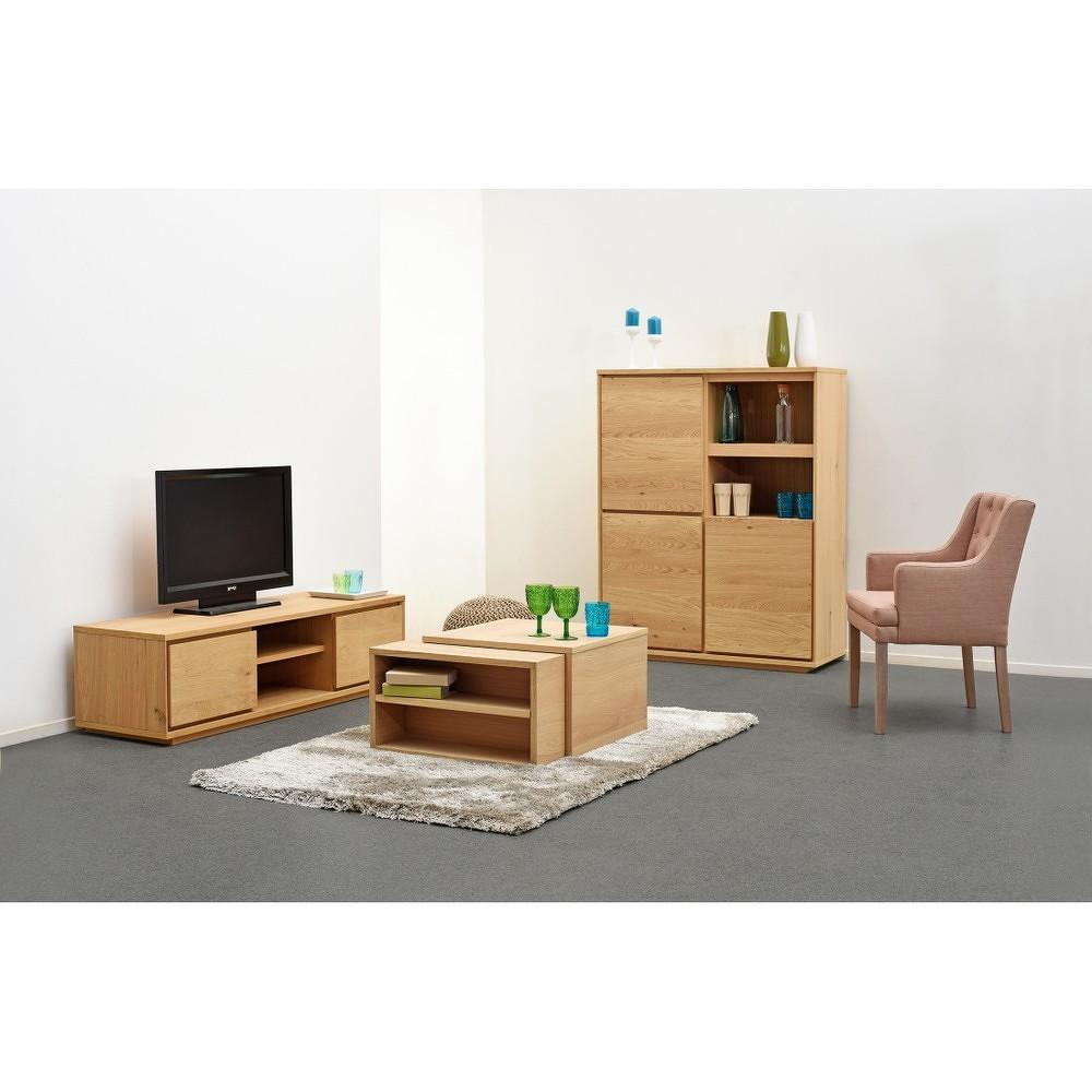 Dřevěný TV stolek Artemob Stockholm