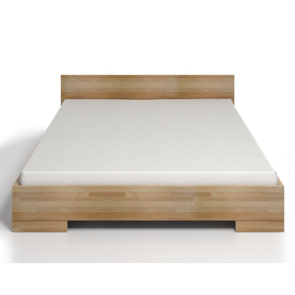 Dvoulůžková postel z bukového dřeva SKANDICA Spectrum Maxi, 140x200cm